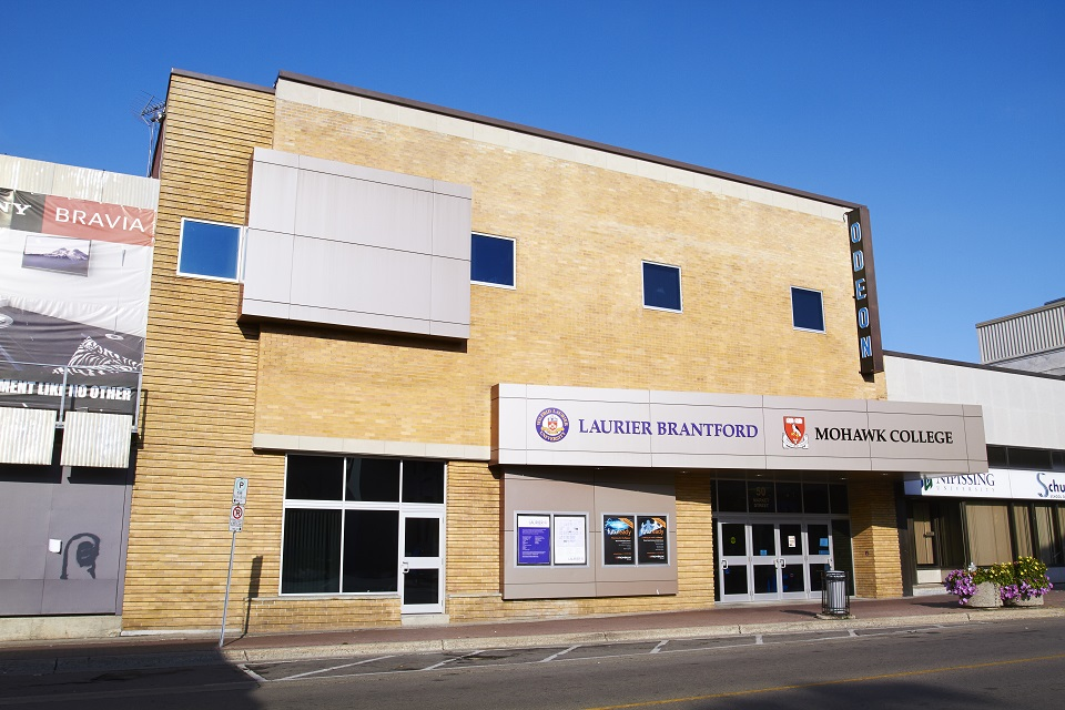 Wilfrid Laurier University – The Odeon Lecture Theater – Brantford, ON