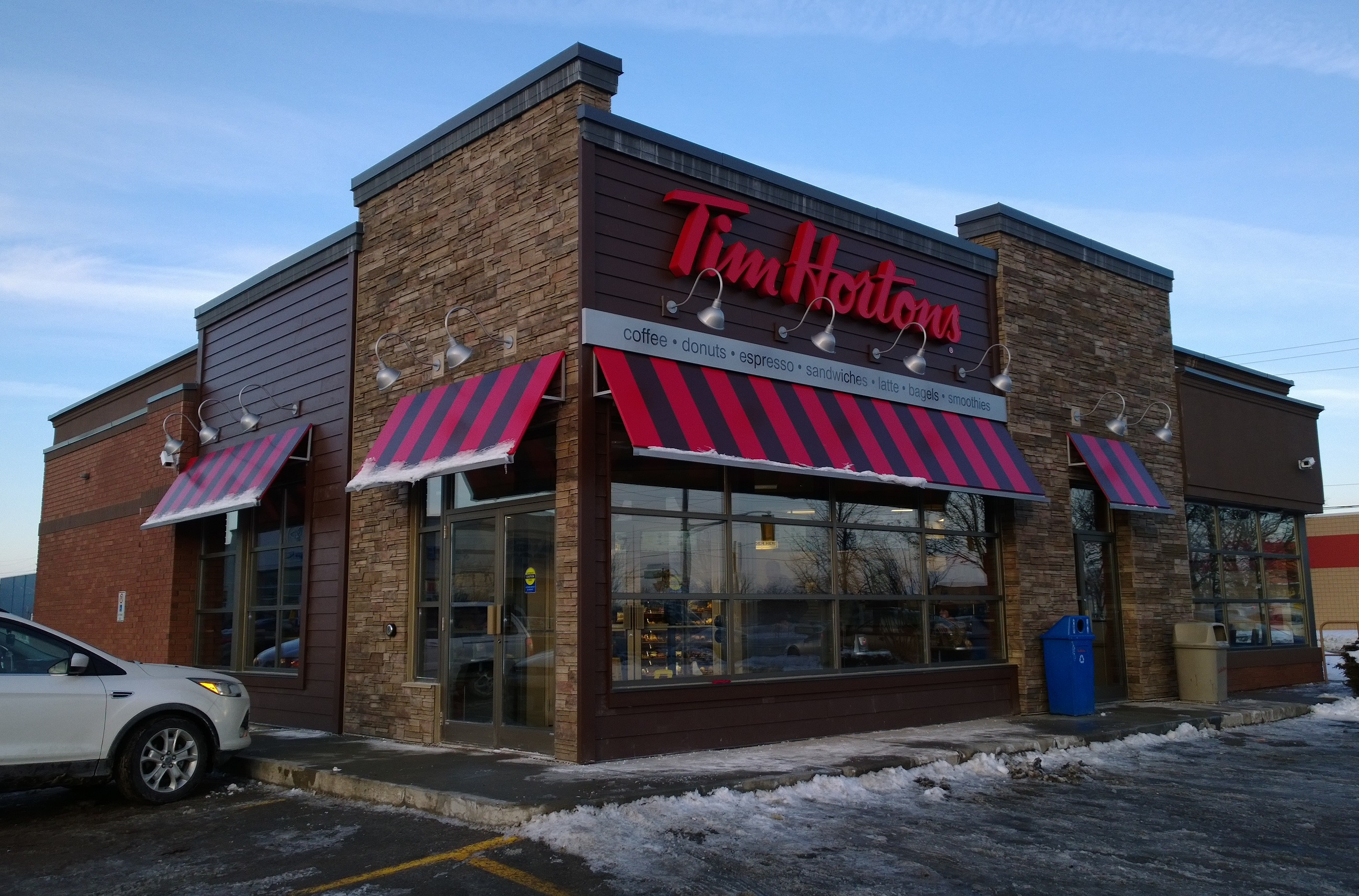 Leasing Solar Panels >> Tim Hortons LEED store – Ancaster, ON | Vicano