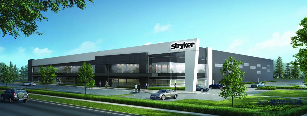 Construction getting underway for Stryker