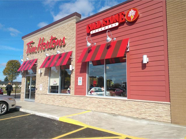 New LEED Tim Hortons in Ancaster Opens