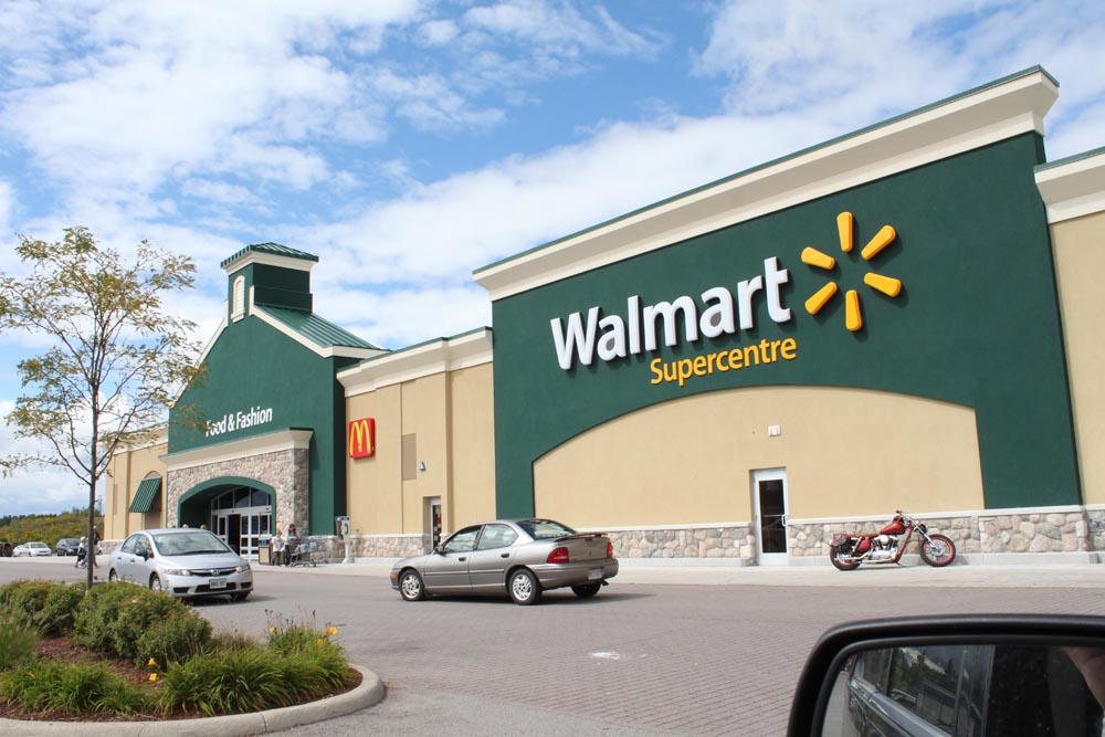Wal Mart Supercentre -Guelph, ON
