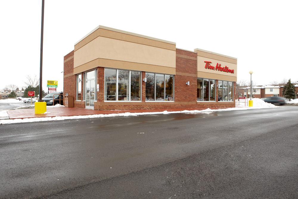 Tim Hortons LEED store – Hamilton, ON