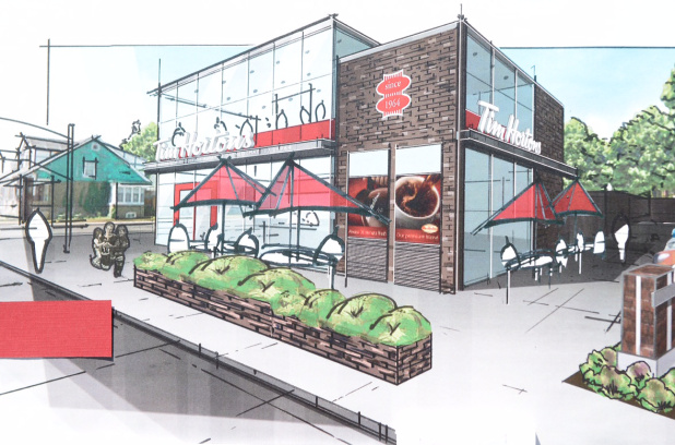 Tim Hortons Store #1 Re-Development – Ottawa Street North, Hamilton, ON
